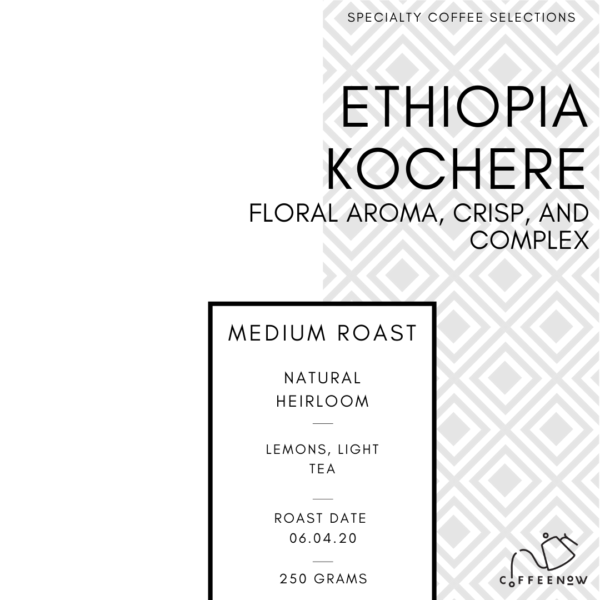 Ethiopian Fresh roasted coffee