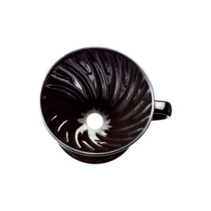We tend to judge coffee by its color. This black cupping bowl obscures the color so that you can discover what really tastes best, without being swayed by appearances.