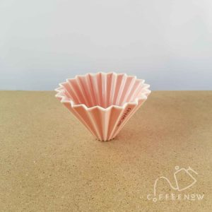 Pink Origami coffee maker small