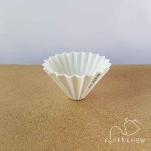 Origami coffee maker small white