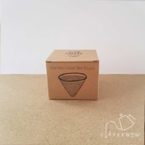 2 Cup stainless steel coffee filter Front of box