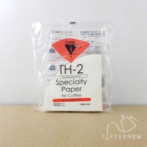 Cafec Paper Filter TH-2 medium