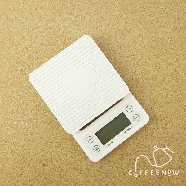 coffee timer scale diagonal