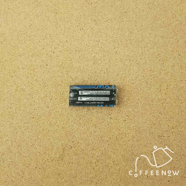 White coffee timer scale battery