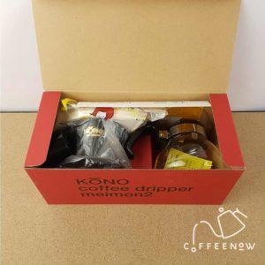 Kono Dripper Set unbox