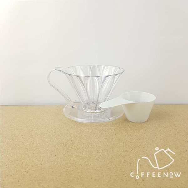 Cafec Flower Dripper 01 with scoop